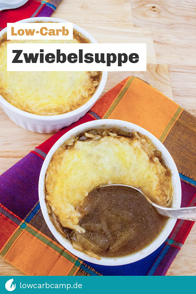 Low-Carb Zwiebelsuppe