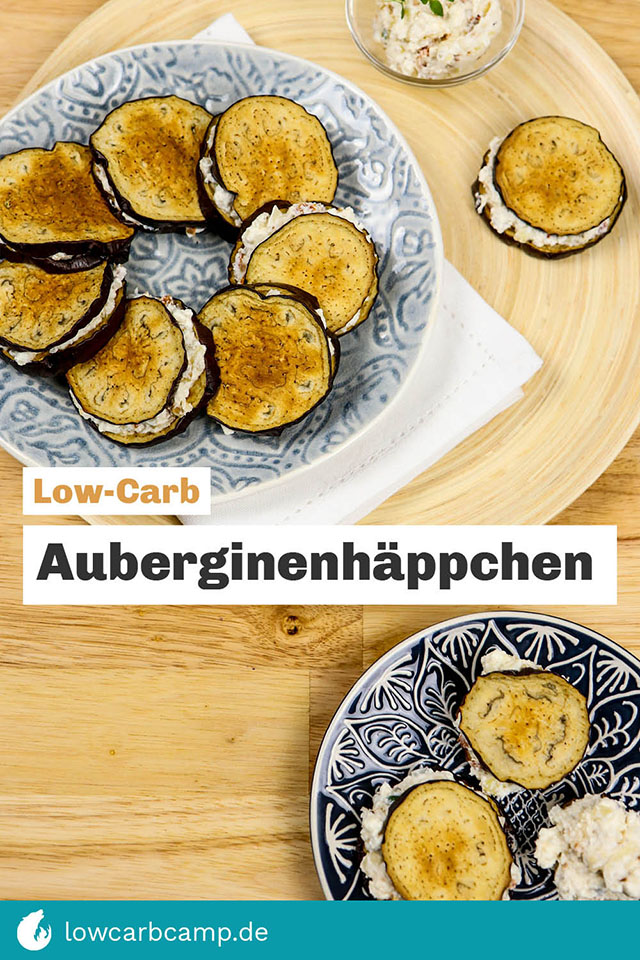 Low-Carb Auberginenhäppchen