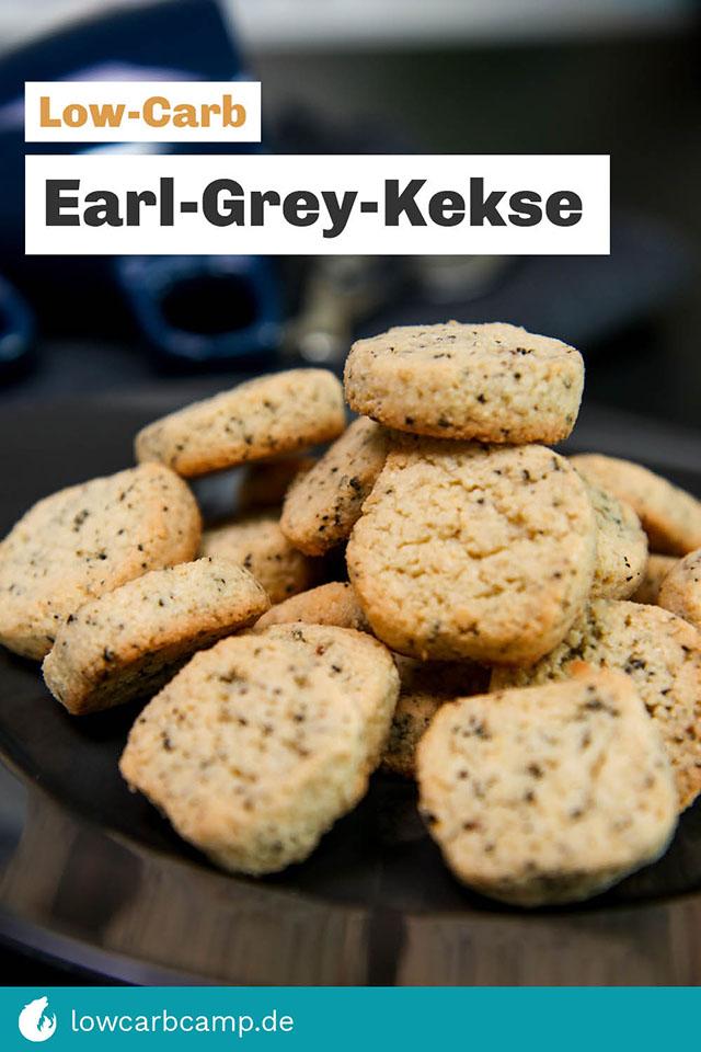 Low-Carb Earl-Grey-Kekse