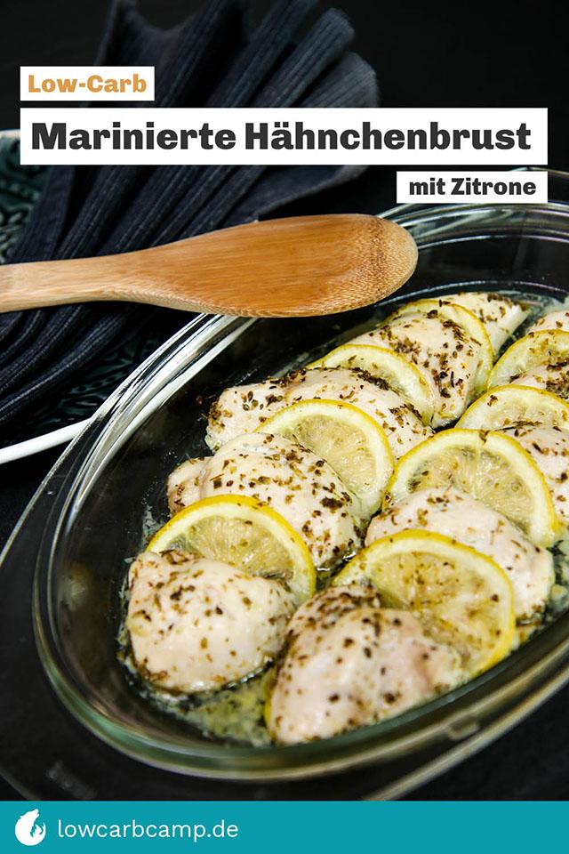 Marinierte Hähnchenbrust mit Zitrone