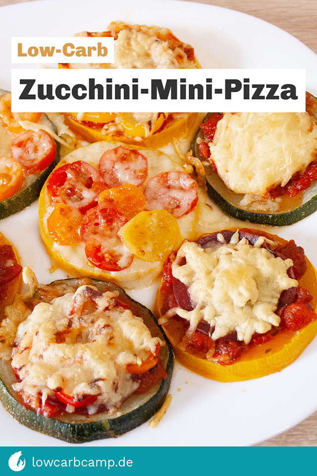 Low-Carb Zucchini-Mini-Pizza