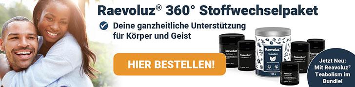 Raevoluz® Stoffwechselpaket - Hier Bestellen
