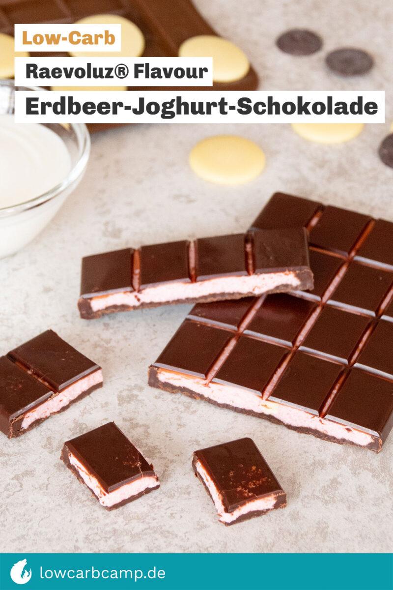 Erdbeer-Joghurt-Schokolade 🍓🍫 Raevoluz® Flavour Joghurette 🥰
