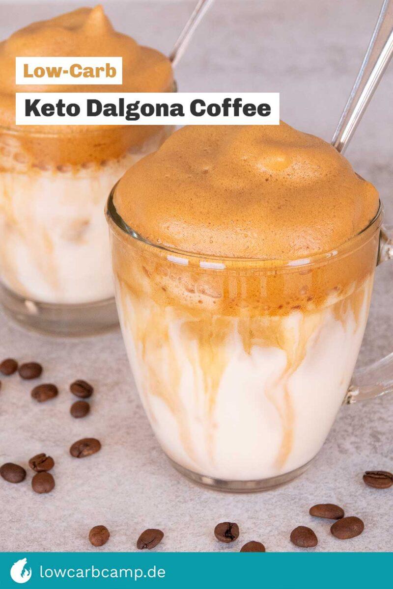 Keto Dalgona Coffee 🍹 eisgekühlte Erfrischung 🧊