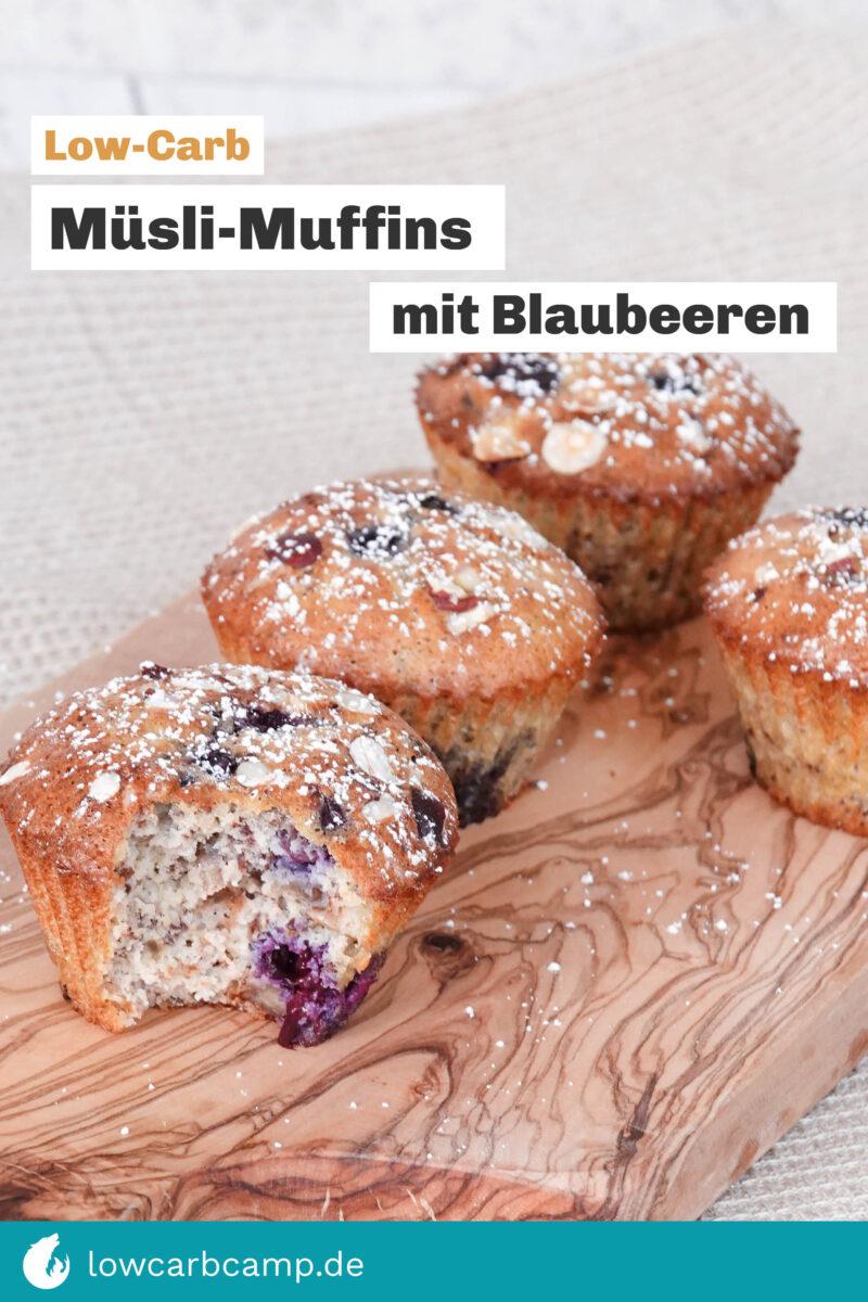 Müsli-Muffins mit Blaubeeren