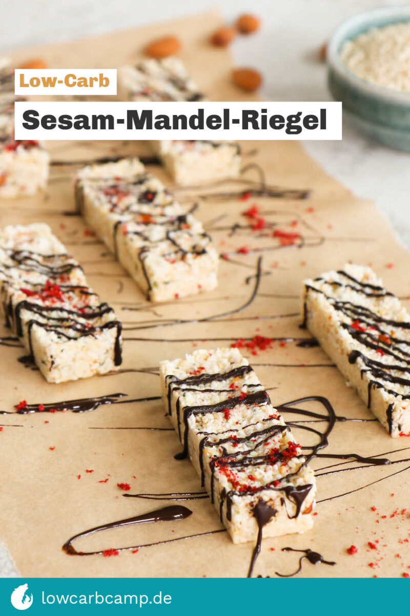 Sesam-Mandel-Riegel