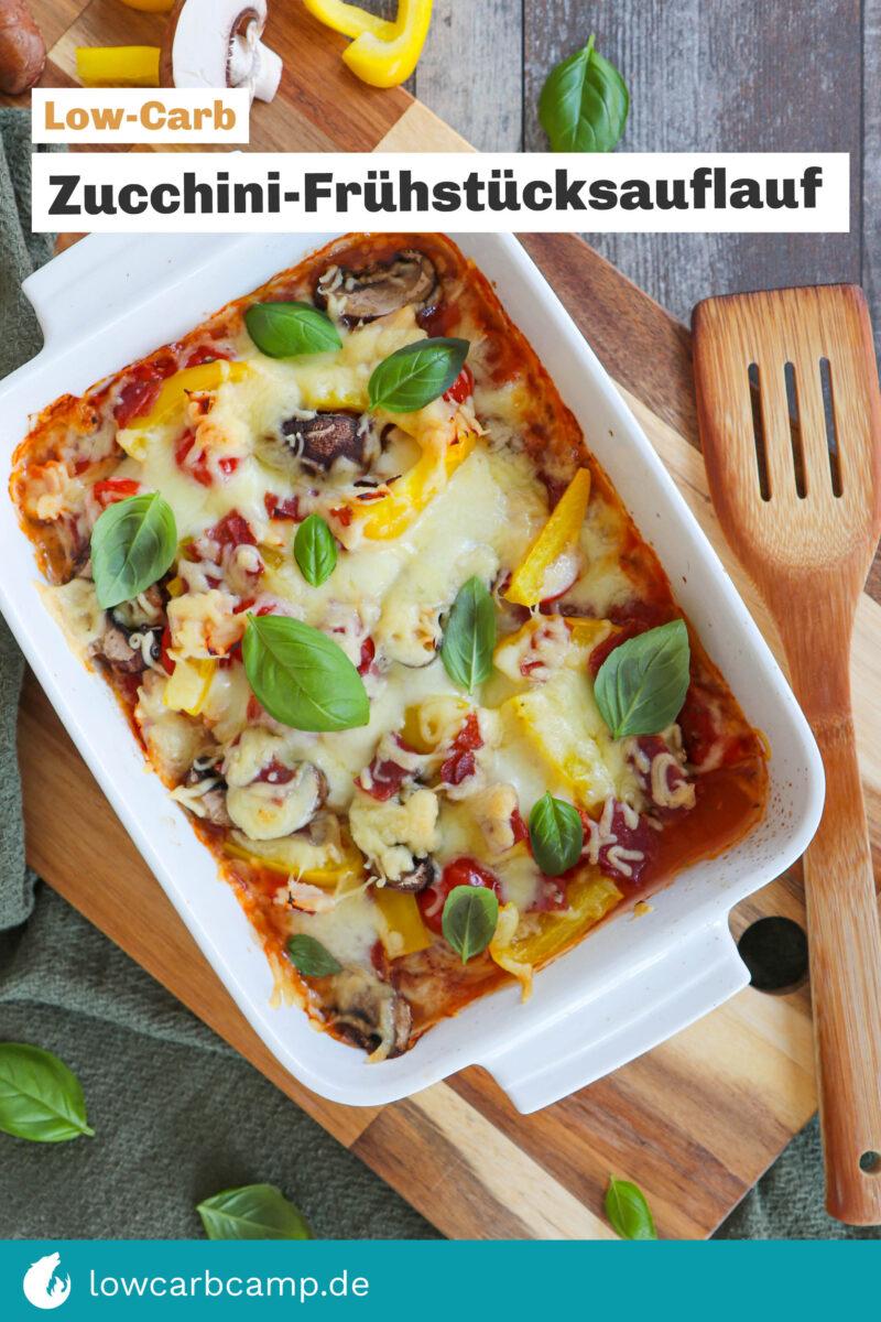 Zucchini-Frühstücksauflauf