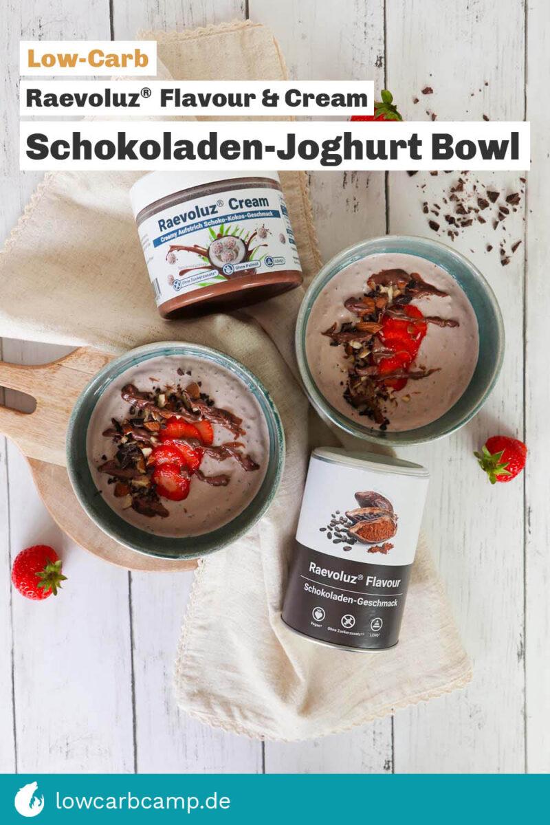 Schokoladen-Joghurt Bowl - Raevoluz® Flavour & Cream