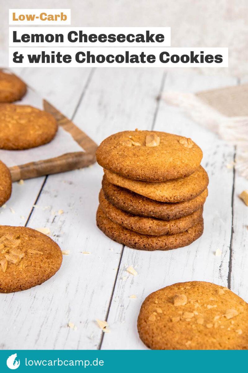 Lemon Cheesecake White Chocolate Cookies