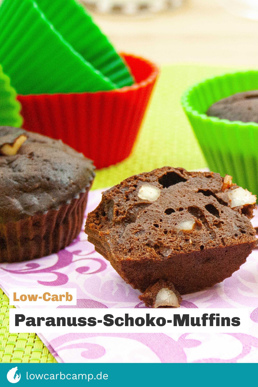 Low-Carb Paranuss-Schoko-Muffins